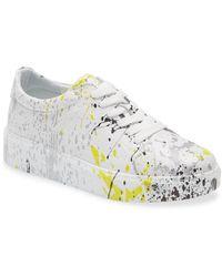 Sheridan Mia Daphne Print Sneaker - Yellow