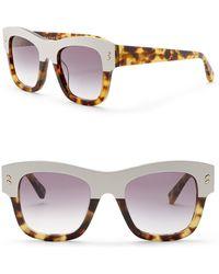 Stella McCartney - 49mm Square Sunglasses - Lyst