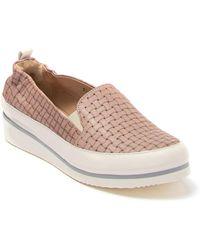 Ron White Nell Woven Leather Slip-on Sneaker - Multicolor