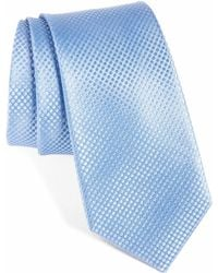 Calibrate - Saturated Dot Silk Tie - Lyst