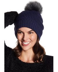 NORLA HATS Homeward Faux Fur Pompom Beanie