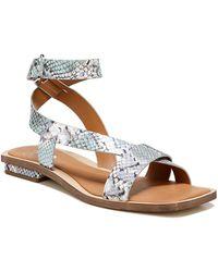 Sarto Ema Ankle Strap Sandal - Multicolor