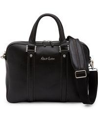Robert Graham Durkeetown Leather Briefcase - Black