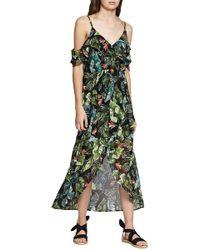 Sanctuary - Sofia Ruffled Print Maxi Dress - Lyst