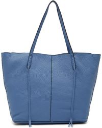 Rebecca Minkoff - Medium Unlined Whipstitch Leather Tote Bag - Lyst