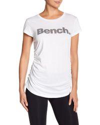 Bench - Deckstar Logo Tee - Lyst