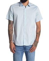 JEFF Solid Regular Fit Sport Shirt - Blue