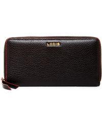 Lodis - Joya Leather Zip-around Wallet - Lyst