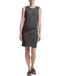 James Perse - Twist Front Shift Dress - Lyst