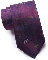 Thomas Pink - Silk Deer Forest Tie - Lyst