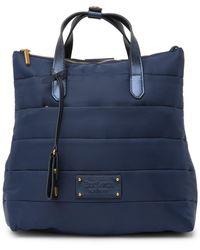 Eric Javits Rules Convertible Backpack - Blue
