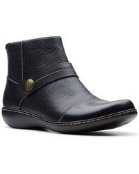 Clarks Ashland Pine Boot - Black