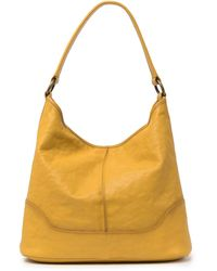 Frye Lucy Hobo Bag - Yellow