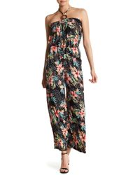 Love, Fire - Beaded Halter Jumpsuit - Lyst