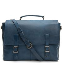 Frye - Leather Logan Top Handle Briefcase - Lyst