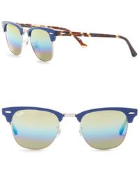 Ray-Ban - 49mm Clubmaster Sunglasses - Lyst