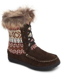 Woolrich - Doe Creek Ii Faux Fur Trim Boot - Lyst