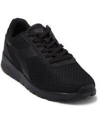 Diadora Evo Running Dd Nylon Sneaker - Black