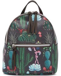 T-Shirt & Jeans - Cactus Print Backpack - Lyst