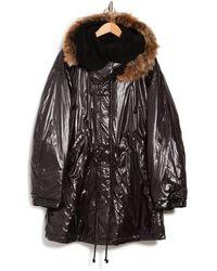 Yeezy Faux Fur Anorak Jacket - Multicolour