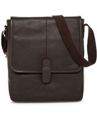 Cole Haan - Pebble Leather Reporter Bag - Lyst