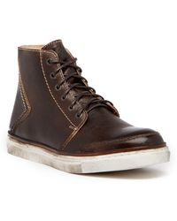 Bed Stu - Baronial Leather High-top Trainer - Lyst