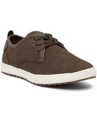 Fish 'n' Chips - Rome Faux Suede Trainer - Lyst