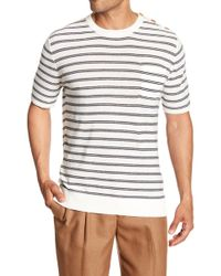 Barque - Nautical Crew Neck Shirt - Lyst