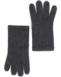 Phenix Cashmere Knit Gloves In 10chr At Nordstrom Rack - Gray