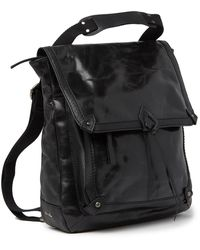 The Sak Ventura Leather Convertible Backpack - Black