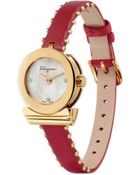 Fendi Women's Quartz Analog Crystal Bracelet Watch Set, 32mm - Metallic