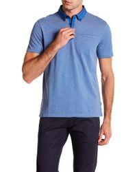 CALVIN KLEIN 205W39NYC - Short Sleeve Allover Feeder Polo - Lyst