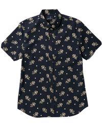 Ben Sherman - Short Sleeve Floral Print Woven Shirt - Lyst