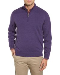 Bobby Jones - Cable Wind Wool Jumper - Lyst