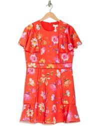 Ted Baker Mira Rhubarb Mini Dress - Red