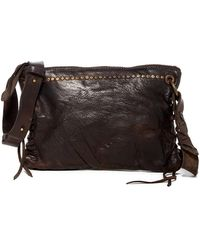 Frye - Samantha Studded Leather Crossbody Bag - Lyst
