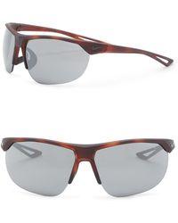 Nike - Cross Trainer 67mm Wrap Sunglasses - Lyst