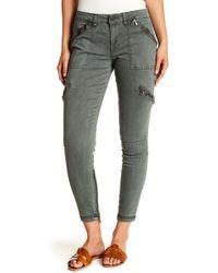 Blank NYC - Zipper Cargo Pants - Lyst