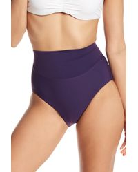 Miraclesuit - Martini Hi-waist Bottoms - Extended Sizing Available - Lyst