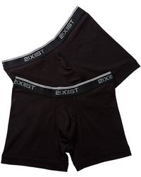 2xist Boxer Brief - Pack Of 2 - Black