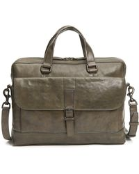 Frye - Oliver Leather Briefcase - Lyst
