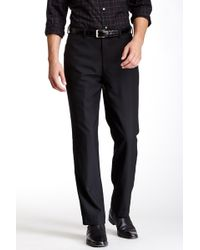 """Louis Raphael - Solid Worsted Wool Modern Fit Pant - 30-34"""" Inseam - Lyst"""