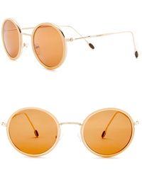 William Rast - Men's 50mm Round Sunglasses - Lyst