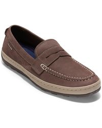 Cole Haan Claude Penny Loafer - Brown