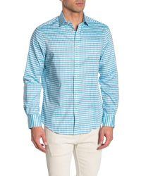 Thomas Dean - Check Print Shirt - Lyst
