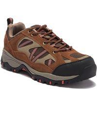 Khombu Wally Hiking Sneaker - Brown