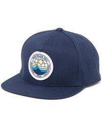 Vans Ellis Patch Snapback Cap - Blue