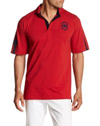 Victorinox - Short Sleeve Tailored Fit Polo - Lyst