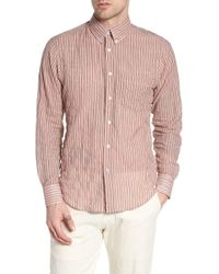 Naked & Famous - Vintage Stripe Shirt - Lyst