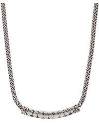 John Hardy - Sterling Silver Dot Necklace - Lyst